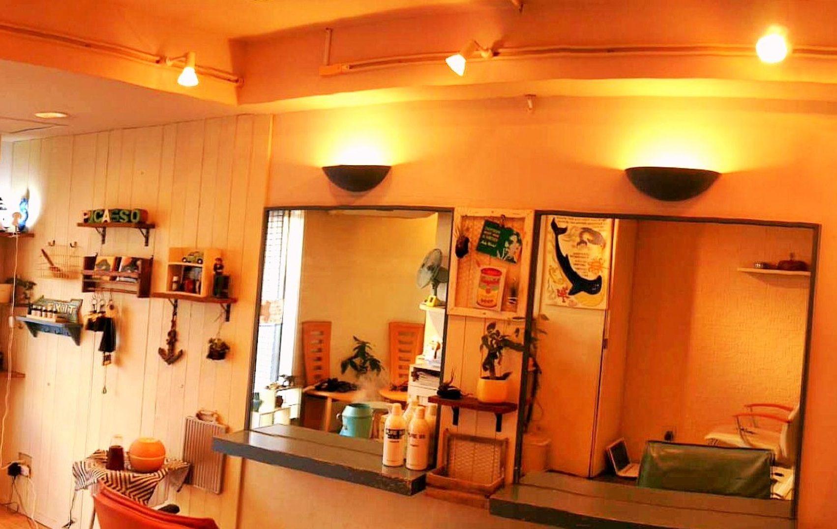 柏市ambient-PICASSOピカソ美容室